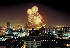 things to do in old montreal fireworks