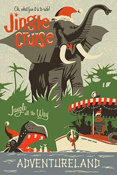 First Look: Jingle Cruise Props & Opening Dates at Disneyland Park and Magic Kingdom Park. I can't wait to see & experience the Jingle Cruise! Disneyland Noel, Disneyland Vintage, Parc Disneyland, Disneyland California, Disneyland Opening, Disneyland 2017, Disneyland Ideas, Disneyland Resort, Walt Disney