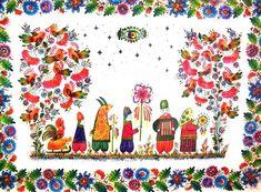 Russian Painting, Ukrainian Art, My Heritage, Ukraine, Folk Art, Decorative Paintings, Tapestry, Fantasy, Ethnic
