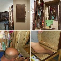 DIY Ékszertartò régi bőröndből / Jewellery holder from an old suitcase DIY