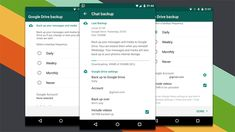 You Can Now Back Up Your WhatsApp Messages to Google Drive