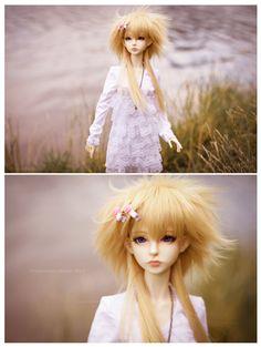 Foggy girl by Salvarion.deviantart.com on @deviantART