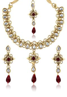 Gayatri Kundan Necklace Set #MyYDHDLook