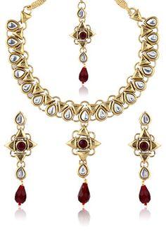 Gayatri Kundan Necklace Set #MyYDHDLook