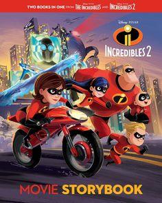 Incredibles 2 Movie Storybook (Disney/Pixar The Incredibles (Disney/Pixar: Incredibles by RH Disney 0736438599 9780736438599