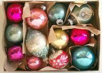 Shiny Brite ornaments :)