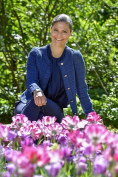40th birthday official picture of Crown Princess Victoria of Sweden
