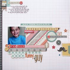 TERESA COLLINS DESIGN TEAM: Funny Guy *New Collection - He Said, She Said* by Stacey Michaud