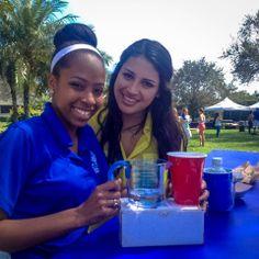 Students at the Safe Spring Break Carnival!