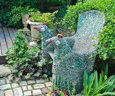 diy betons ule zum bepflanzen pflanzturm aus beton beton pinterest luftpolsterfolie. Black Bedroom Furniture Sets. Home Design Ideas