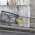 Street Art by Oakoak – In Saint Etienne, France