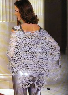 crochet shawl | make handmade, crochet, craft comes with full diagram.
