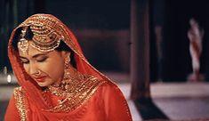 Meena Kumari in Pakeezah (1972)