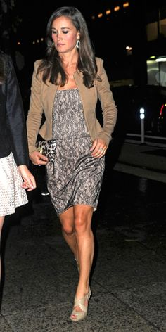 Pippa Middleton's Memorable Style Moments - September 4, 2012 from #InStyle