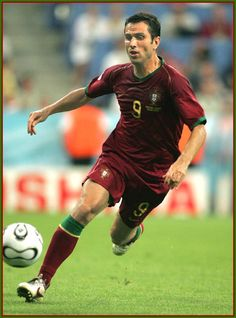 Pauleta -  Portuguese former footballer