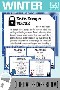 Solar System Science Escape Room- Digital Breakout in 2020 ...