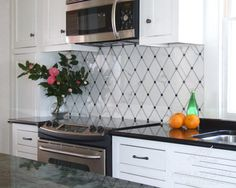 Quilt Stone Mosaic - traditional - Kitchen - Other Metro - New Ravenna Mosaics