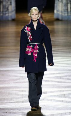 Van-Noten-RF13-14, abrigo tipo kimono.