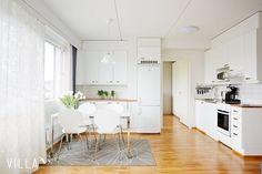 Tässä kodissa on sitten niin kivasti käytetty kaikki 49m2  kiitos kuvasta: Harankatu 5, Tampere #Hakametsä    Katso kohde ➡ www.villalkv.fi/myynnissa-nyt  (paikassa VILLA LKV)