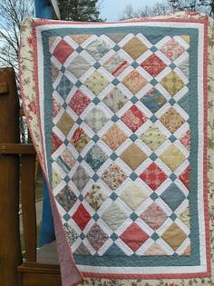 A letter to a mother. Quilt by moda