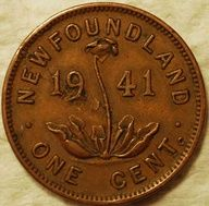 Pre-Confederation penny from Newfoundland - Newfoundland was a separate British colony and then dominion until when it joined Canadian Confederation. 1941 is the year my husband was born, he was only 8 when this took place. Canadian Things, I Am Canadian, Canadian History, Newfoundland Canada, Newfoundland And Labrador, Canadian Confederation, Atlantic Canada, Canada Eh, Old Money