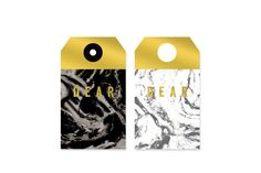 Foil Marble Gift Tags