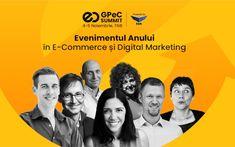GPeC SUMMIT își anunță startul: pe 4-5 noiembrie are loc evenimentul-cheie de E-Commerce și Digital Marketing al toamnei  #gpec #marketing E Commerce, Marketing, Movies, Movie Posters, Ecommerce, Films, Film Poster, Cinema, Movie