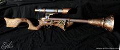 Steampunk Tromblon rifle by ~Ethis-Crea on deviantART