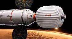 Inspiration Mars ship using human waste as a radiation shield: no really, it's fine
