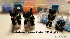 Loom Band Patterns, Rainbow Loom Patterns, Rainbow Loom Creations, Loom Bracelet Patterns, Rainbow Loom Animals, Kids Rainbow, Rubber Band Charms, Rubber Band Bracelet, Loom Band Bracelets