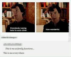 Sherlock at Christmastime
