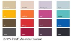 #tuesdaytrending international key colours for 2019+ | @meccinteriors | design bites | #2019trends #2019colourtrends #colourtrends