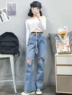 Check out this Classy work korean fashion Korean Girl Fashion, Korean Fashion Trends, Ulzzang Fashion, Korean Street Fashion, Korea Fashion, Asian Fashion, Kpop Outfits, Girl Outfits, Cute Outfits