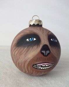 Chewbacca Inspired Ornament | Ornaments, Christmas ornament and My ...