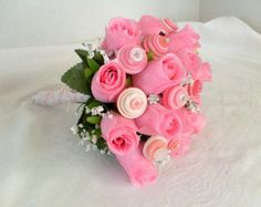 Popular items for silk roses bouquet on Etsy