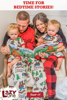 Check our our fun books and start some fun bedtime and holiday traditions with your family! # Source by LazyOneInc Pajamas Matching Christmas Pajamas, Matching Family Pajamas, Kids Pajamas, Pajamas Women, Funny Pjs, Bedtime Stories, Holiday Traditions, Funny Design, Pajama Set