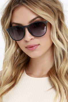 Sunray Vision Slate Blue Sunglasses at Lulus.com!