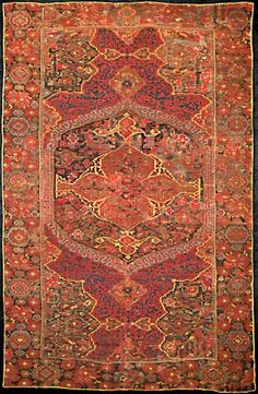 Mollaian, Ferrara- Italy wil be exhibiting this Ushak Carpet at the Berlin Rug and Textile Exhibition