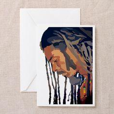 Cuban Rastafarian Greeting Card - may 27
