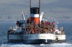 16. Go 'doon the watter' on the Waverley, Scotland's iconic paddle steamer