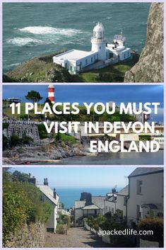 11 Places You Must Visit In Devon, from the moors to the coasts to the beautiful cities and villages in between, Devon's a county full of treasures and heritage. Come and investigate its National Parks and seafaring history. Travel Tips For Europe, Best Places To Travel, Cool Places To Visit, Places To Go, Travel Destinations, Travel Uk, Holiday Destinations, Family Travel, Scotland Travel
