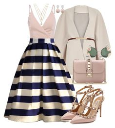 """""""Untitled #758"""" by joslynaurora on Polyvore featuring Forever 21, River Island, Chicwish, Valentino and Spitfire"""