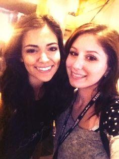 Bethany with a fan...Lucky fan :'( I wish I could meet you @Bethany Shoda Mota