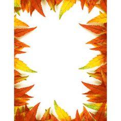 [フリーイラスト素材] イラスト, 背景, 植物, 葉っぱ, 紅葉 / 黄葉, 秋, フレーム ID:201409131100