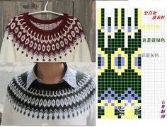 Knitting Charts, Knitting Stitches, Knitting Designs, Knitting Patterns, Crochet Patterns, Baby Cardigan, Cardigans For Women, Stitch Patterns, Knit Crochet