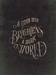 "Dishfunctional Designs: A Beautiful, Classic Christmas.. "" A good deed brightens a dark world."""