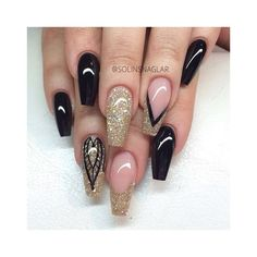 Stiletto Nails ❤ liked on Polyvore featuring beauty products и nail care