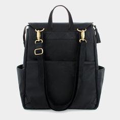 Ebony Diaper Bag