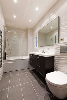 One of the three Bathrooms. Exclusive Porcelanosa & HansGrohe furnished.