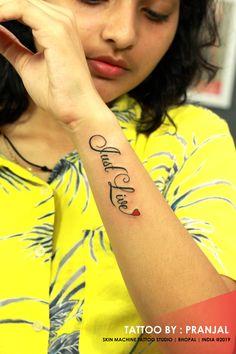 Just live tattoo - - Name Tattoo On Hand, Forearm Name Tattoos, Henna Tattoo Hand, Arm Tattoo, Samoan Tattoo, Polynesian Tattoos, Tattoo Ink, Mini Tattoos, Small Tattoos